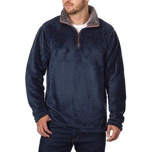 Men's Cozy Plush pullover Trinity Navy